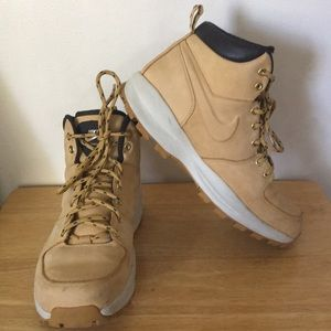 Nike Manoa Leather Mens Lace Up Boots
